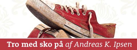 Tro med sko på