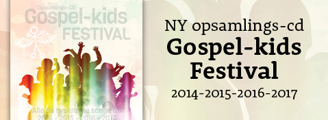 Gospel-kids Festival opsamlings-cd